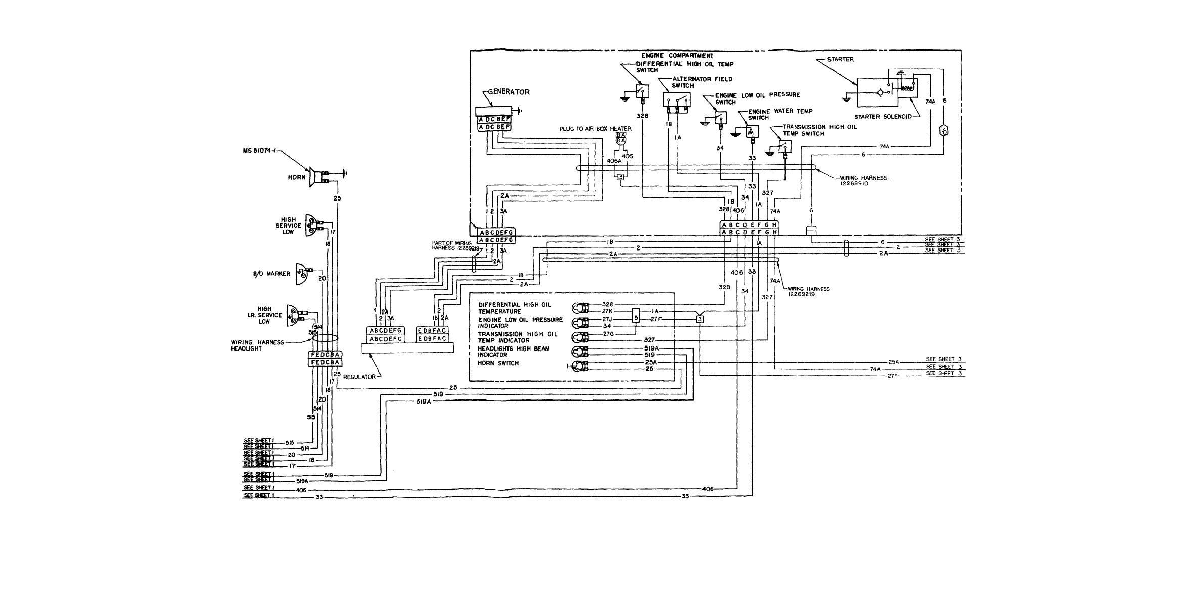200 Amp Wire Diagram Great Design Of Wiring Panel M1064 Electrical 825760747 Alternator